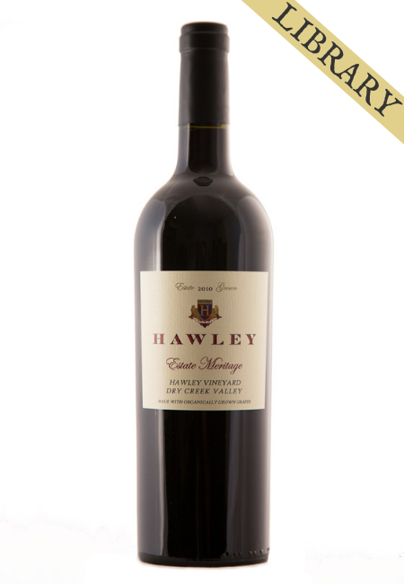 2010 Estate Meritage, Hawley Vineyard