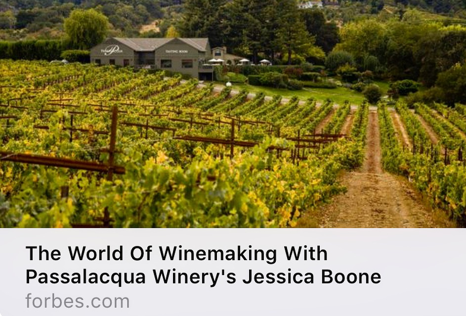 Forbes Article Featuring Our Winemaker Jessica Boone