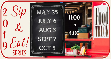ENJOY OUR SIP & EAT<br>SUMMER SERIES!