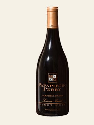 2017 Campbell Ranch ~ Pinot Noir ~ Sonoma Coast ~  750 ml