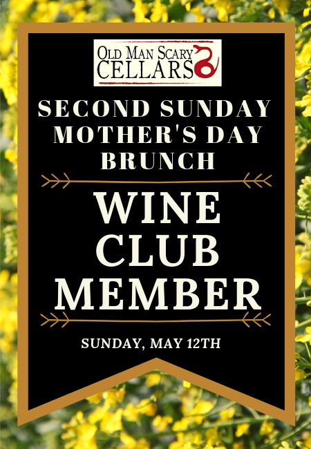 Second Sunday Brunch May Wine Club Member