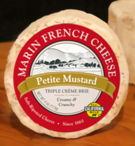 Petite Mustard Brie