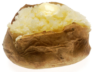 Baked Potato for 32 degree Spice