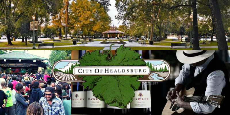 Healdsburg Tuesdays on the Plaza Blog Header