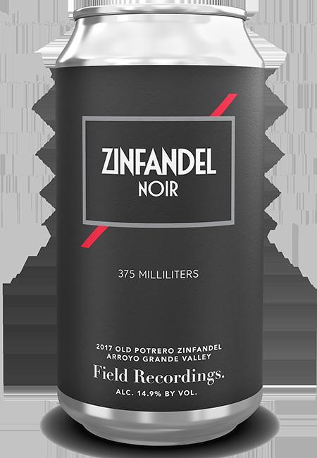 2017 Zinfandel Noir Cans - 6 pack