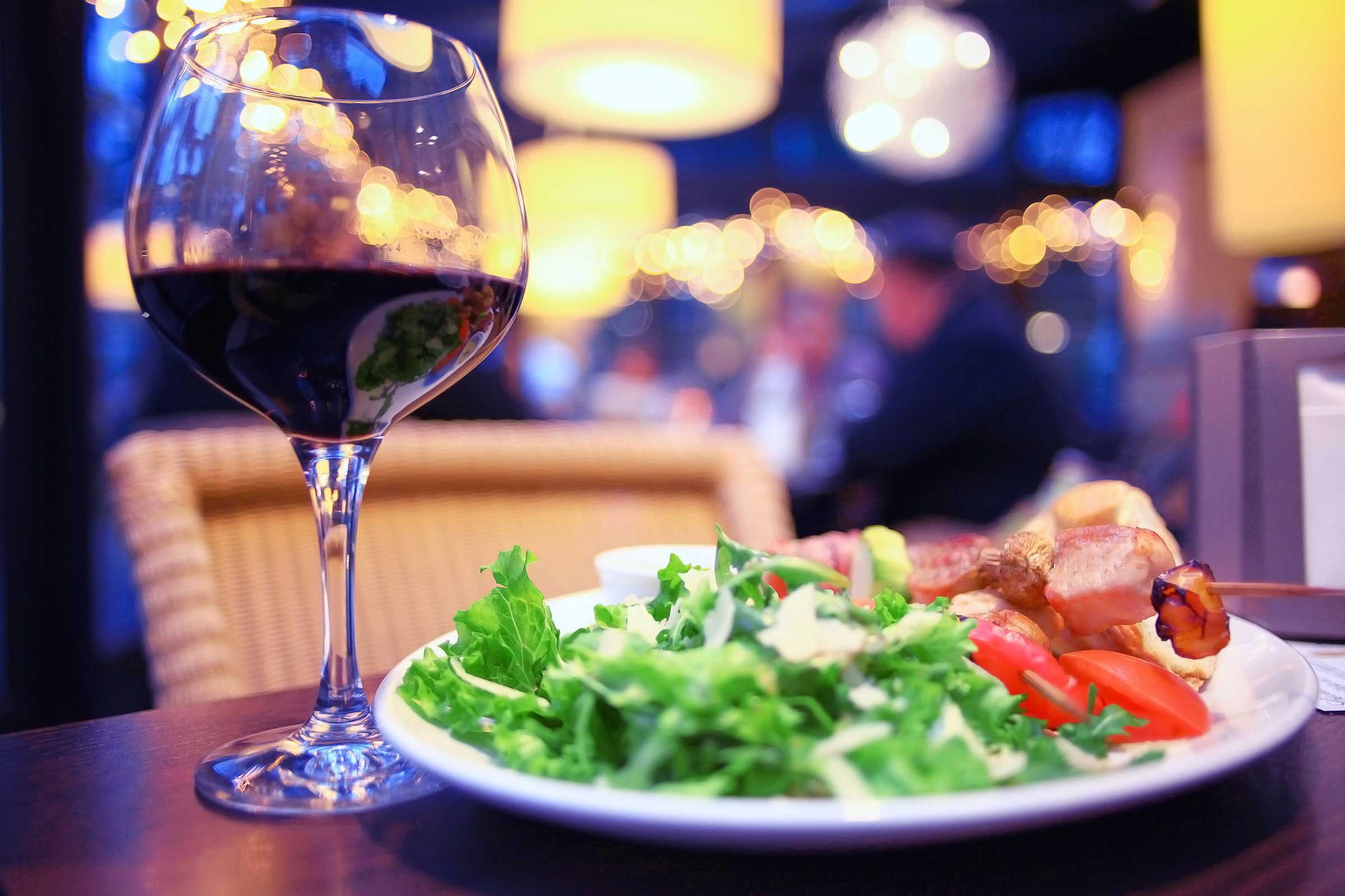 Healthy Meals Do Go With Wine