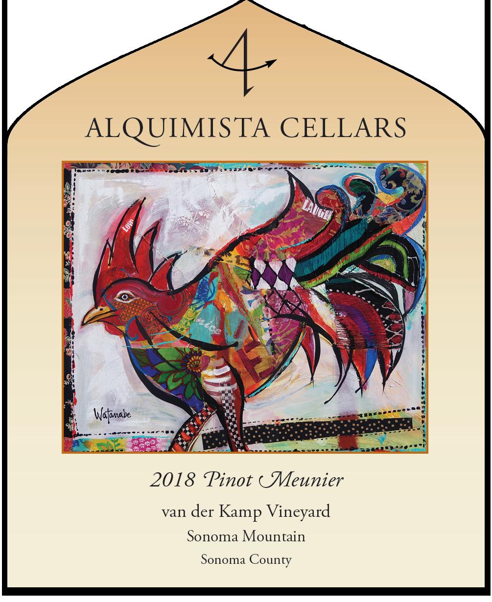 2018 van der Kamp Vineyard Pinot Meunier - tech sheet