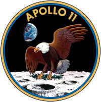 Apollo 11 Patch 200x202