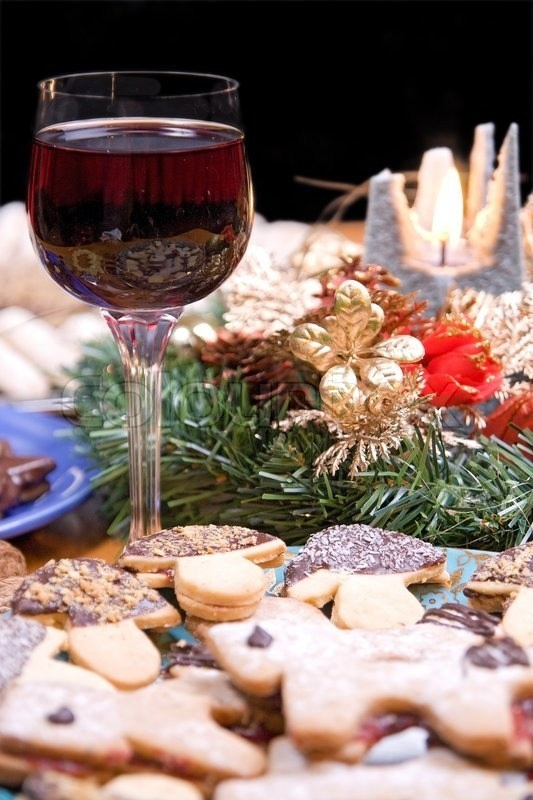 Holiday Cookies and Wine