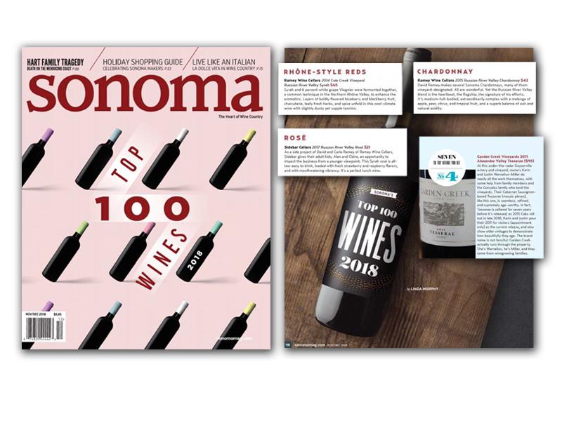 Sonoma Magazine - November 2018