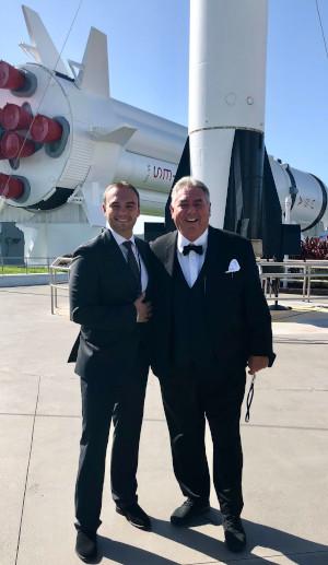 Sam & Bill at NASA 300x517