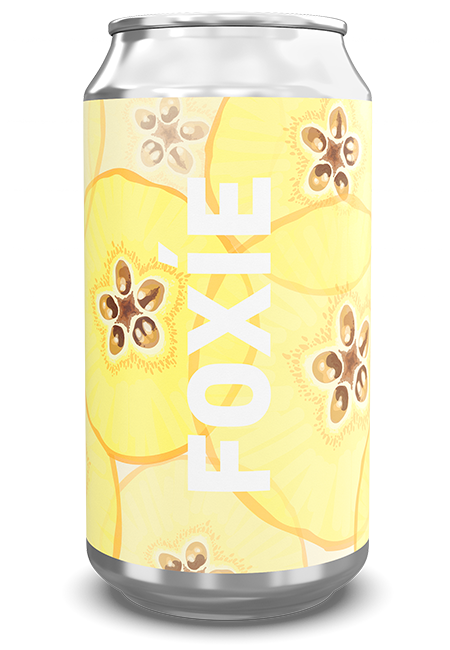 Foxie Quince Cans (4-Pack)