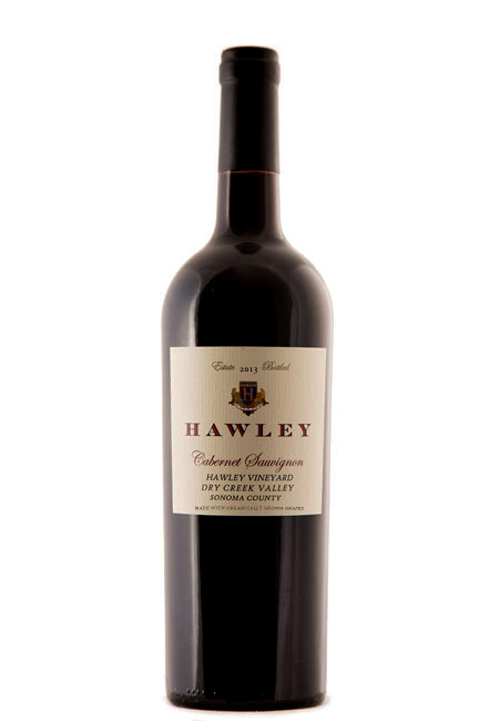 2013 Estate Cabernet Sauvignon, Hawley Vineyard