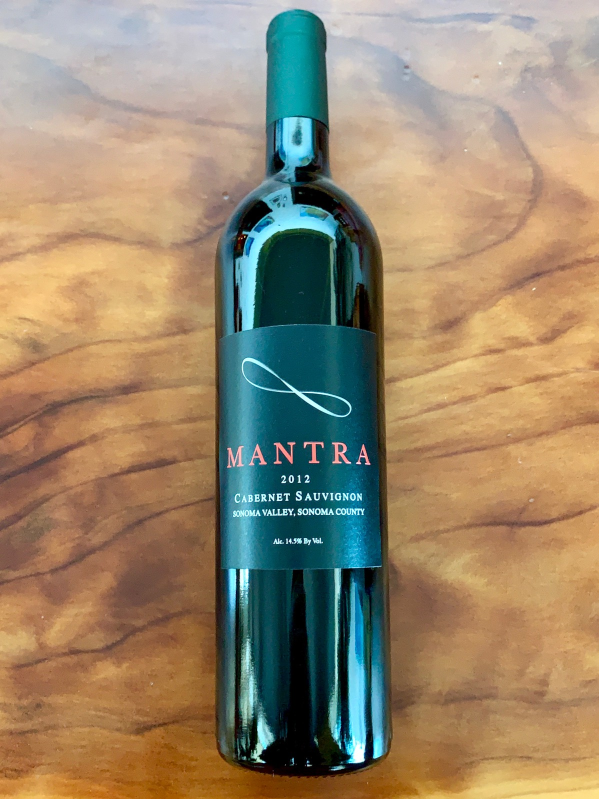 2012 Mantra Sonoma Valley Cabernet