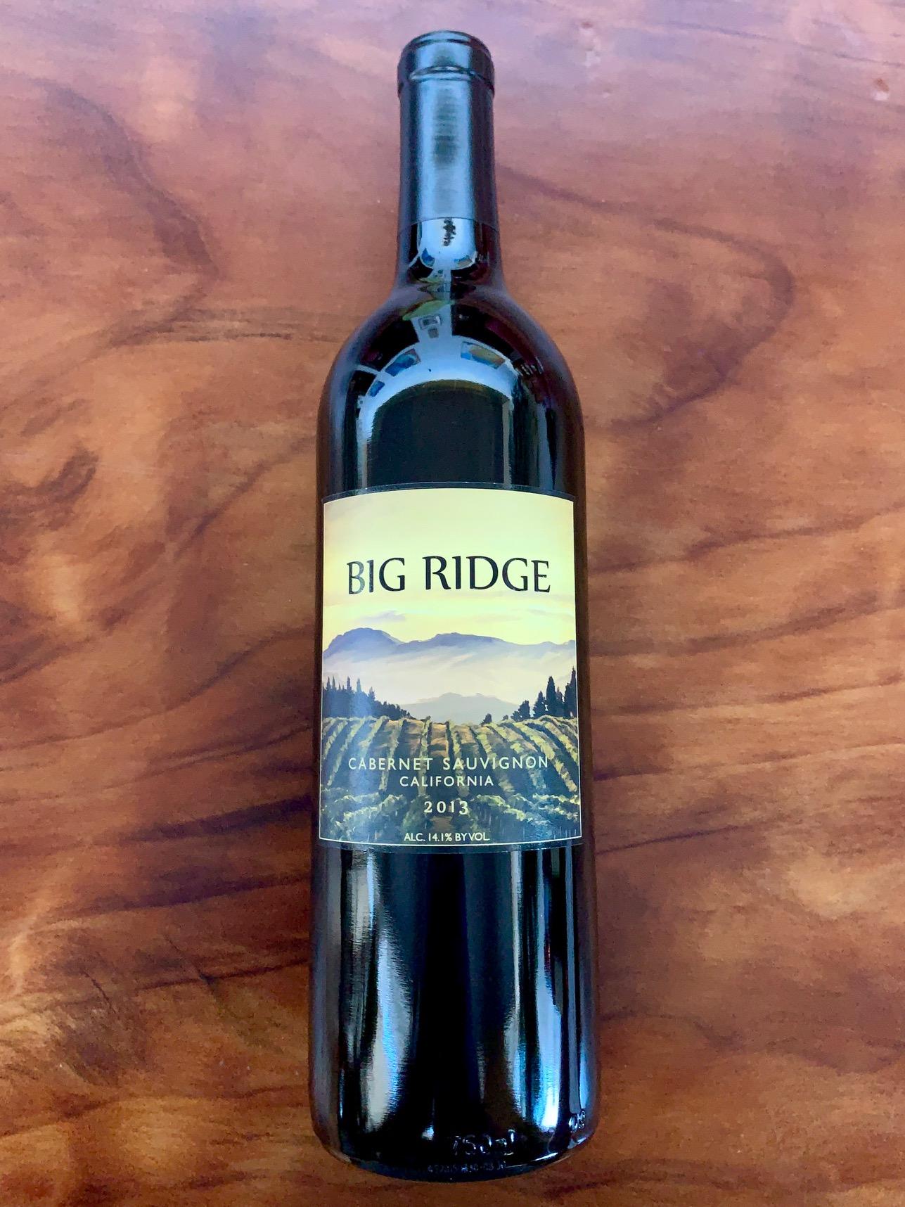 2013 Big Ridge California Cabernet