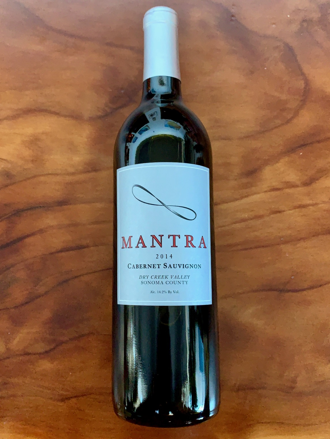 2014 Mantra Dry Creek Cabernet