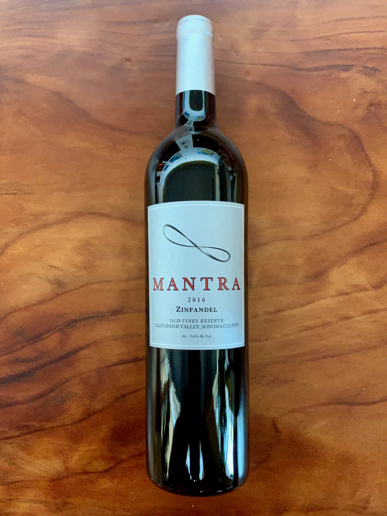 2016 Mantra Old Vines Zinfandel Reserve