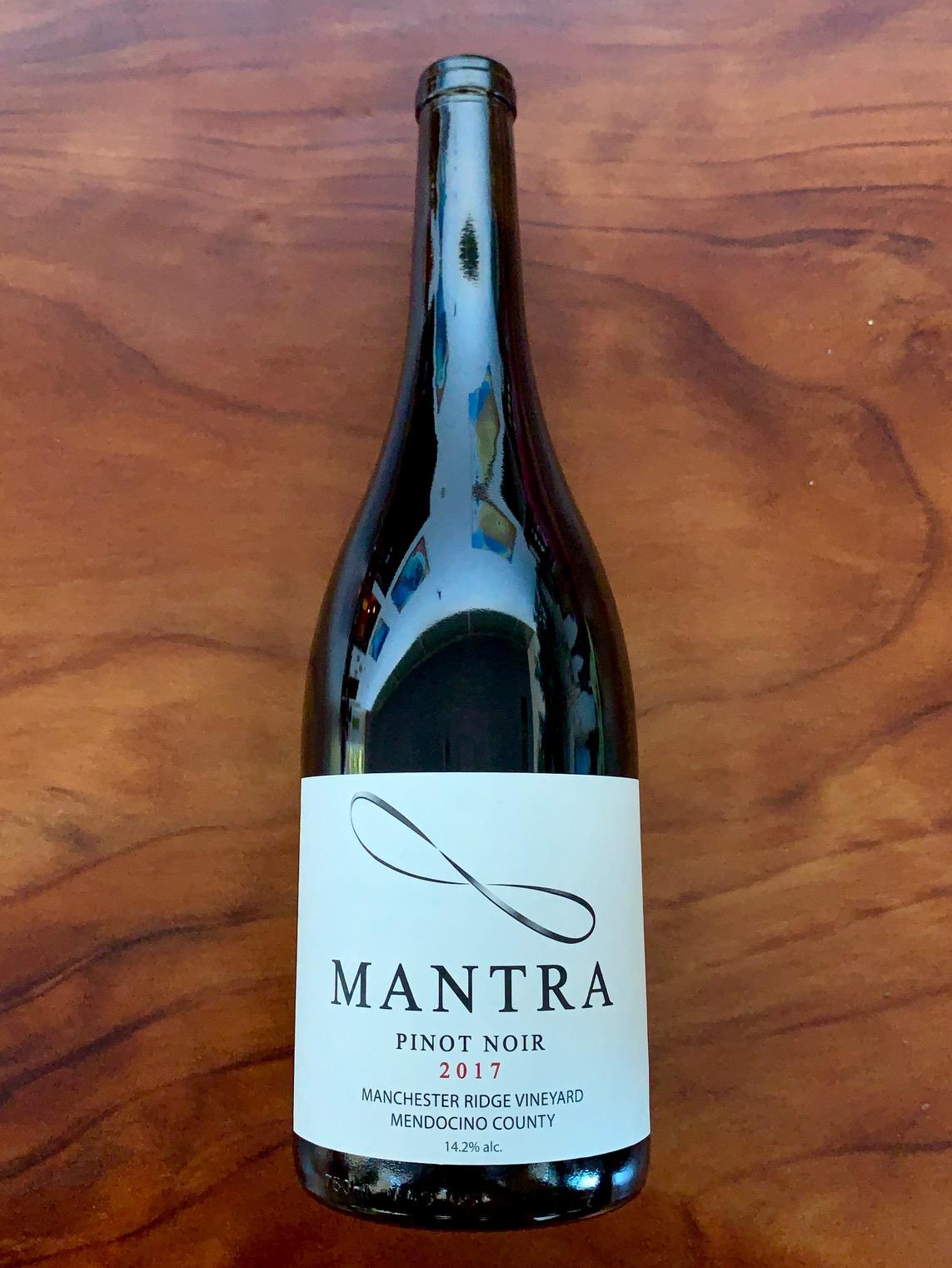 2017 Mantra Mendocino County Pinot Noir
