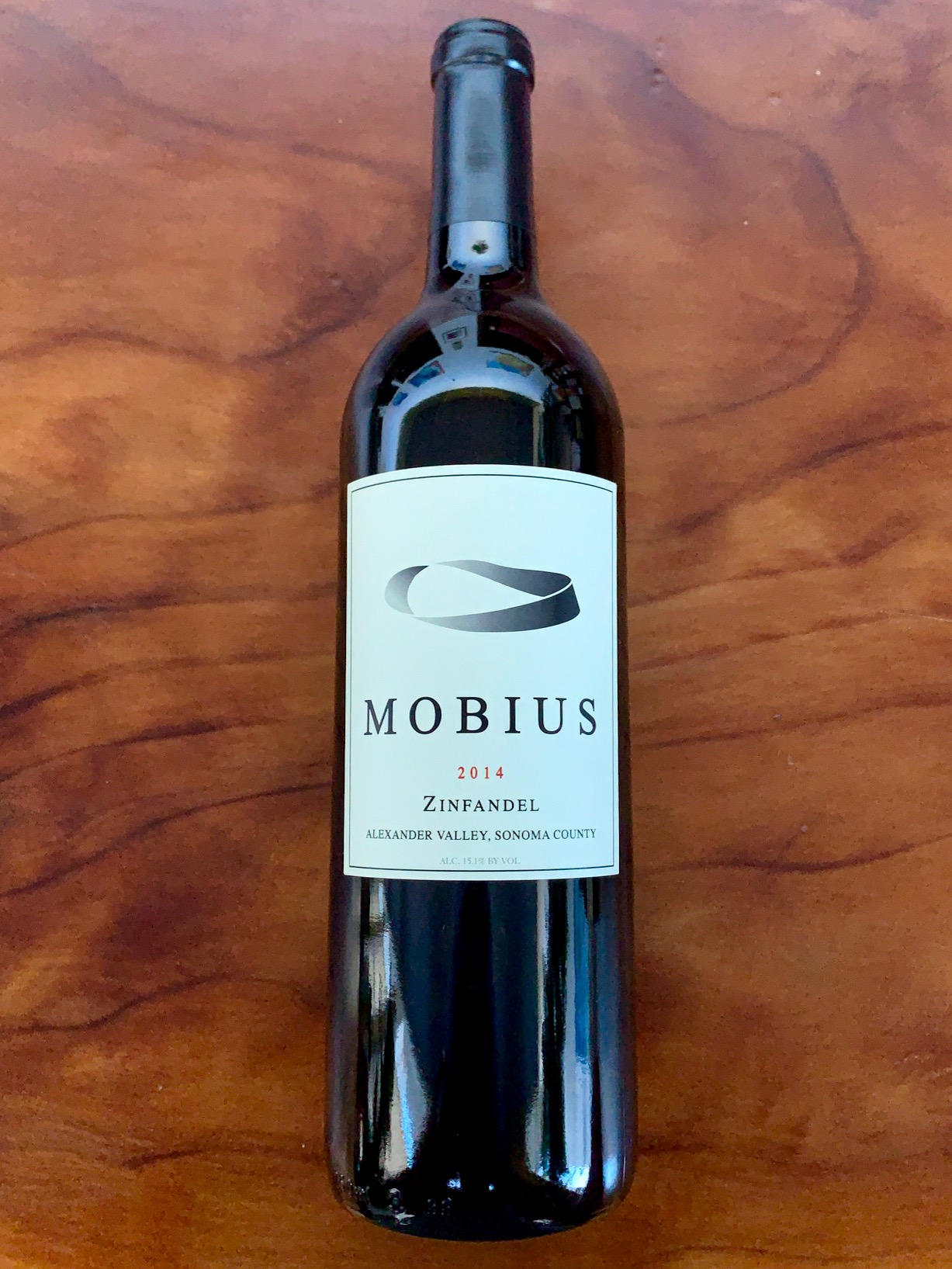 2014 Mobius Alexander Valley Zinfandel