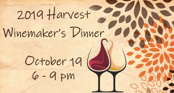 HARVEST WINEMAKER'S DINNER<br>TICKETS AVAILABLE NOW!