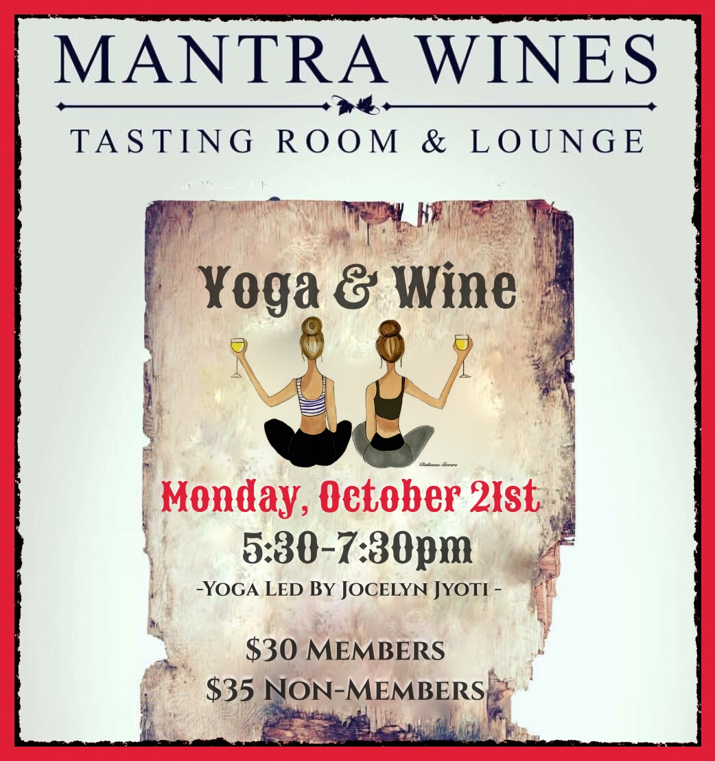 Yoga & Wine - Club Member