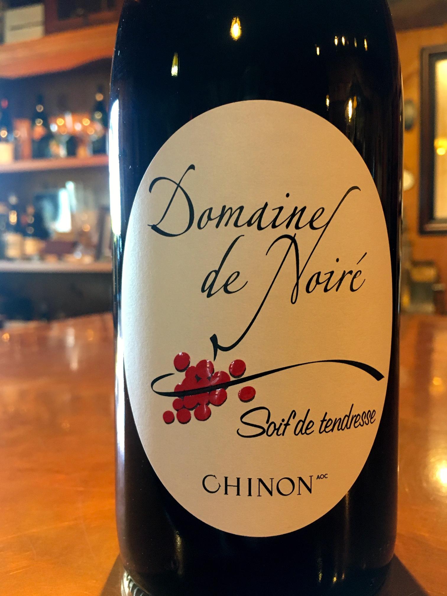 2018 Chinon Domaine Noir, Soif de Tendresse