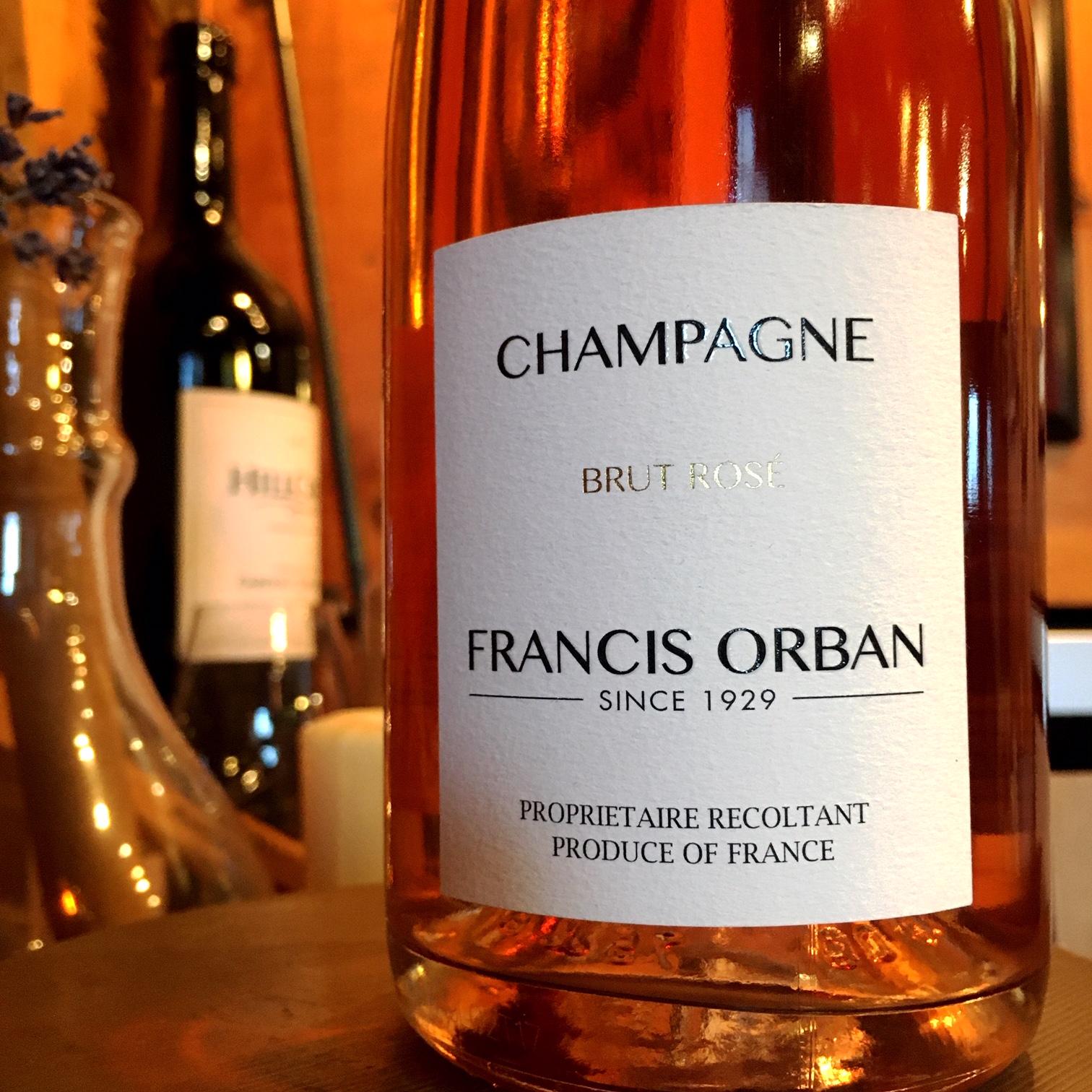 NV Domaine Francis Orban Brut Rosé Champagne