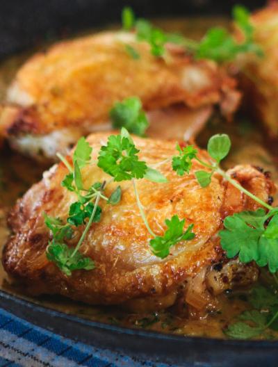 French Mustard Chicken