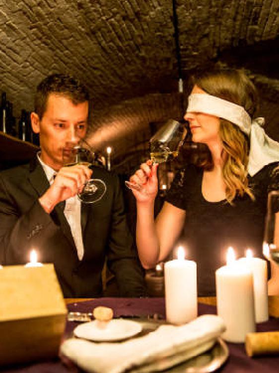 Valentine's Day Blindfold Pop-Up Dinner