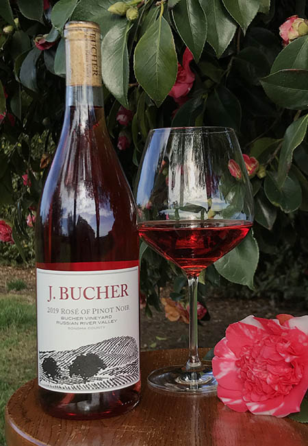2019 Rose of Pinot Noir Bucher Vineyard Russian River Valley