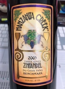 2005 Three Vines Zinfandel