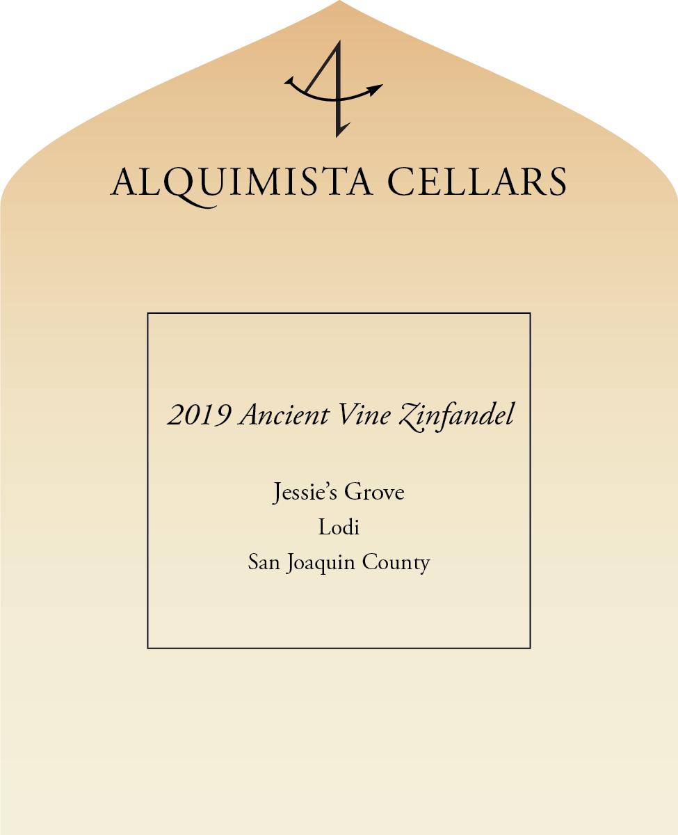 2019  Jessie's Grove Ancient Vine Zinfandel