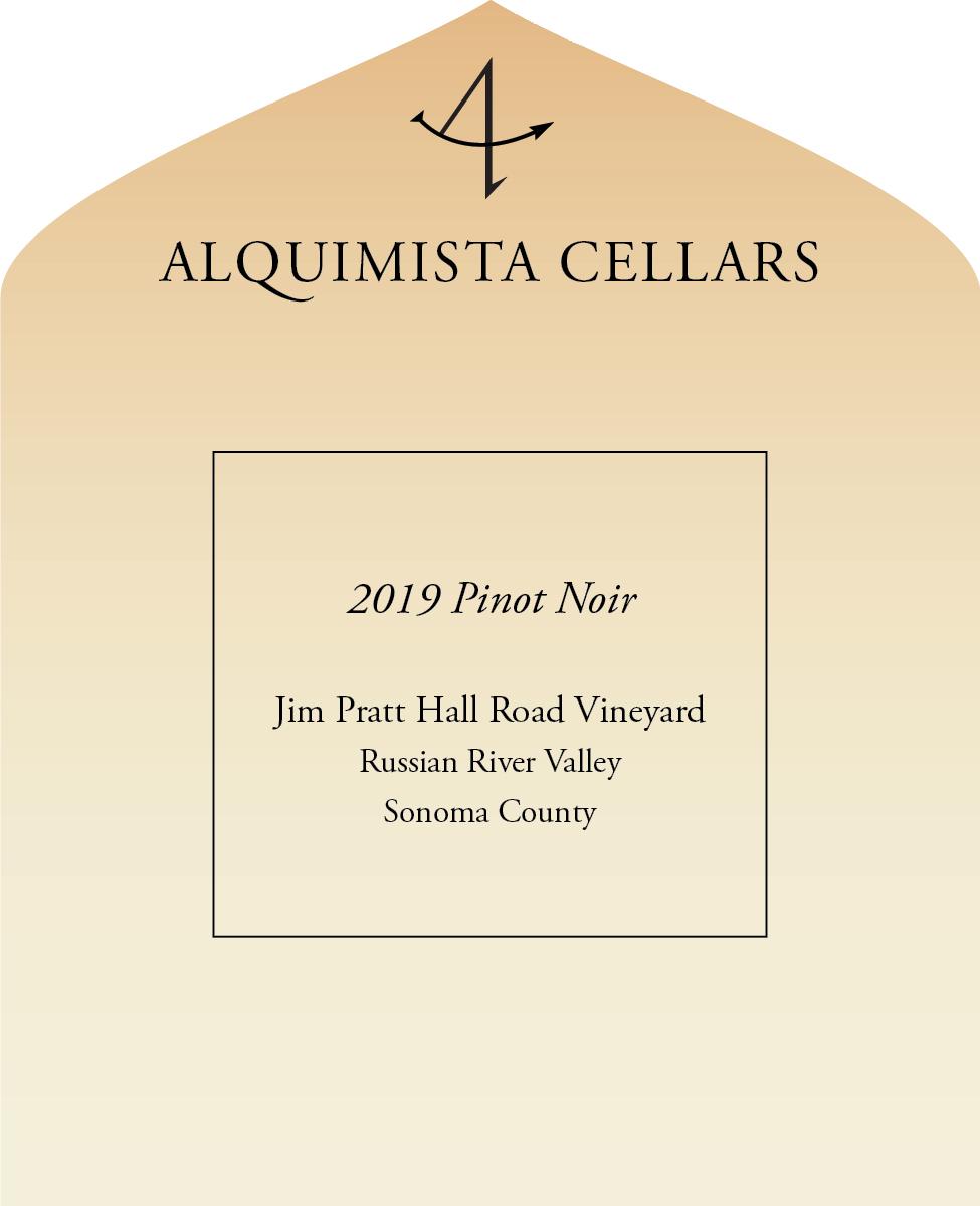2019 Pratt Vineyard Hall Road Pinot Noir
