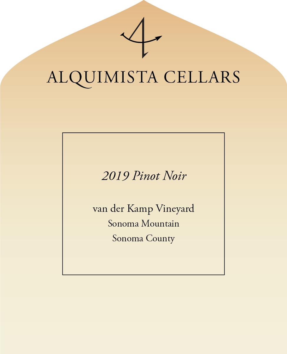 2019 van der Kamp Pinot Noir