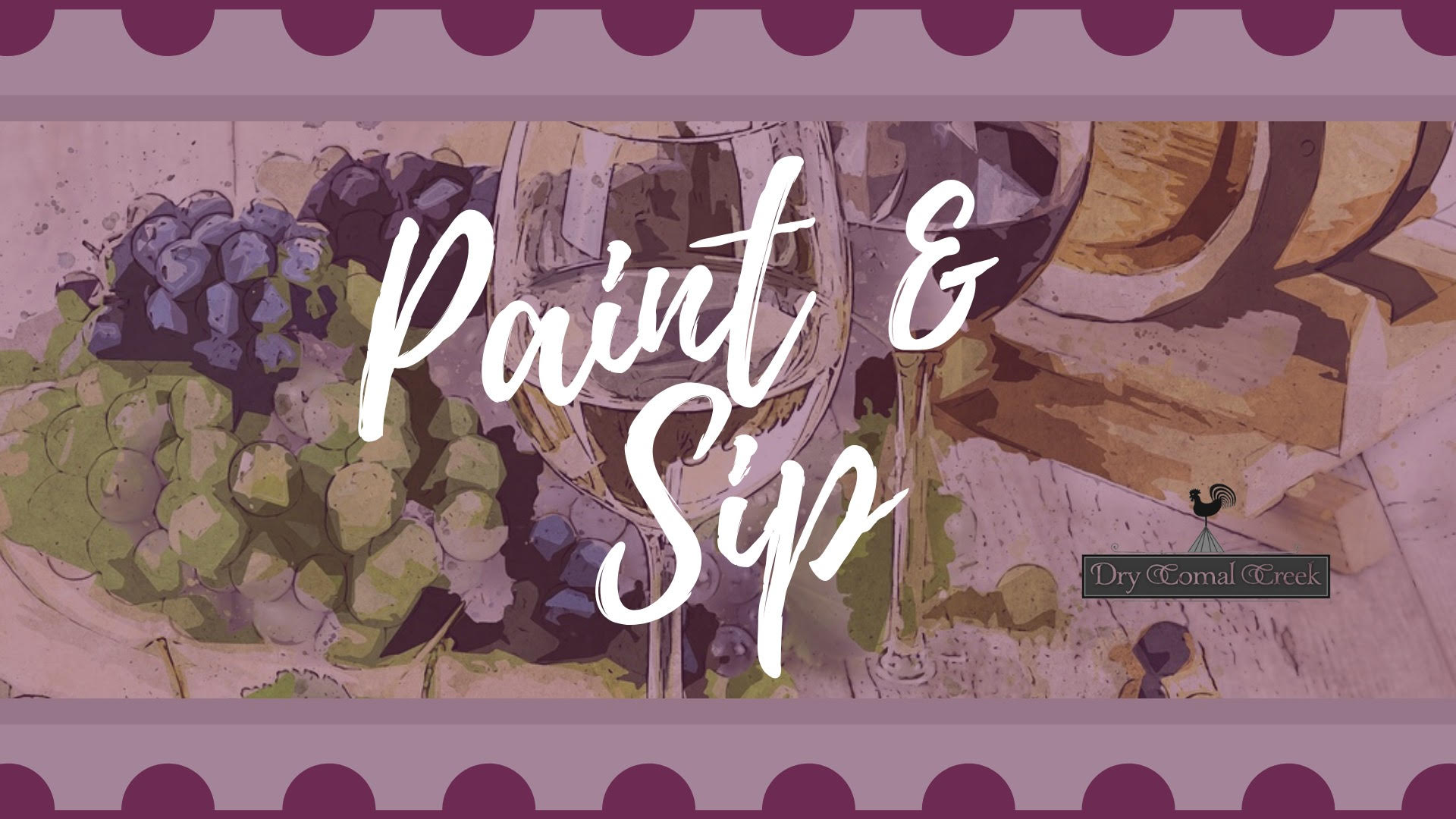 Paint and Sip to be rescheduled