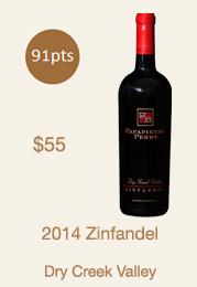2014 Dry Creek Valley Zinfandel Bottle
