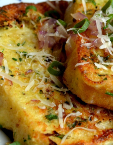 Parmesan & Herb French Toast