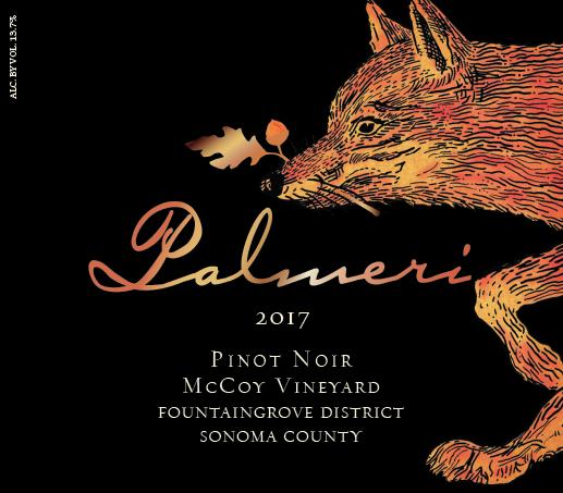 2017 Palmeri McCoy Pinot Noir
