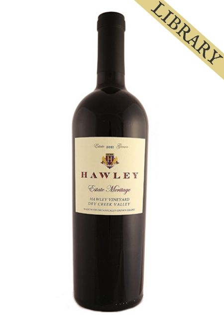 2011 Estate Meritage, Hawley Vineyard -Club Exclusive-