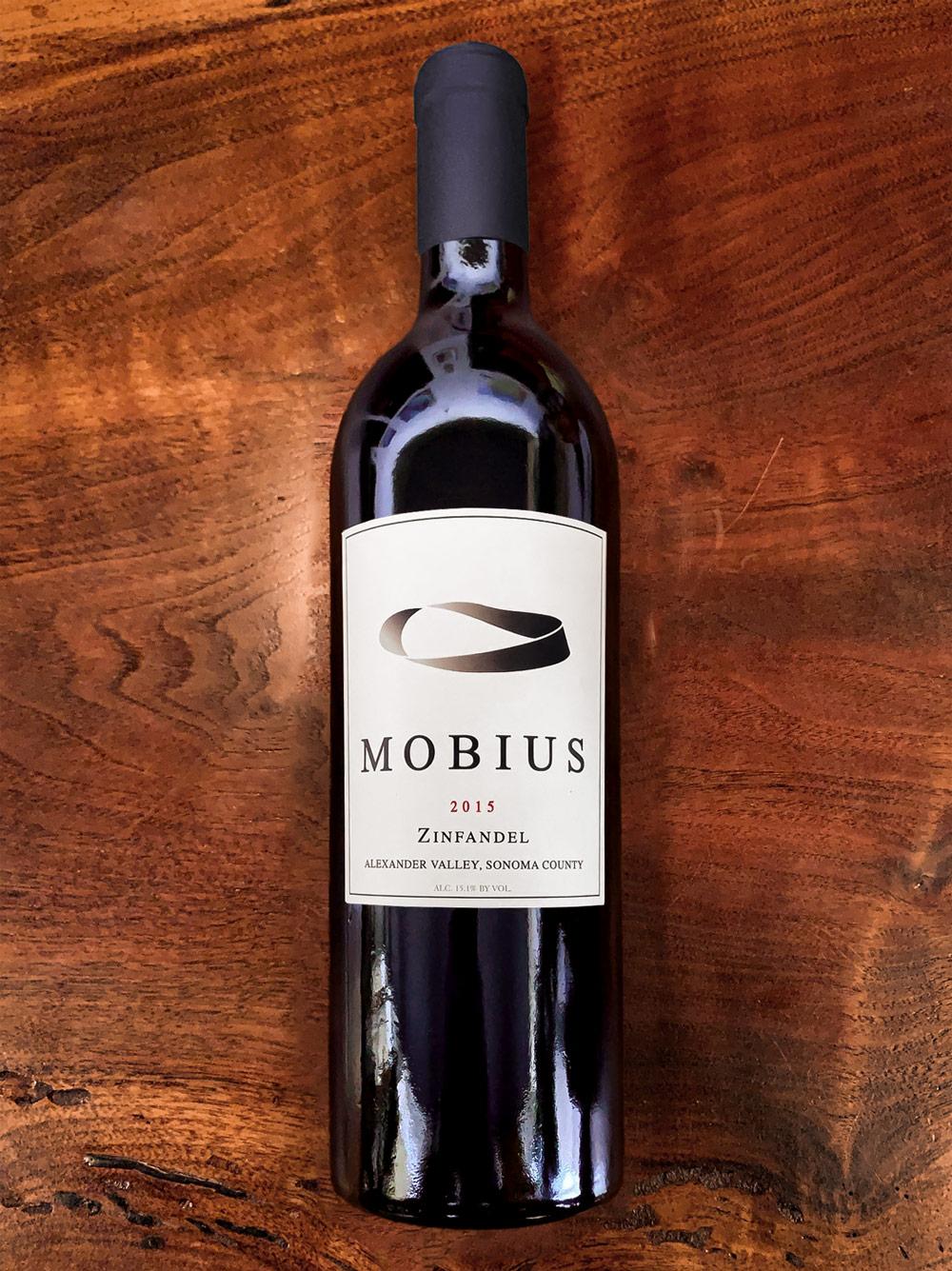 2015 Mobius Alexander Valley Zinfandel