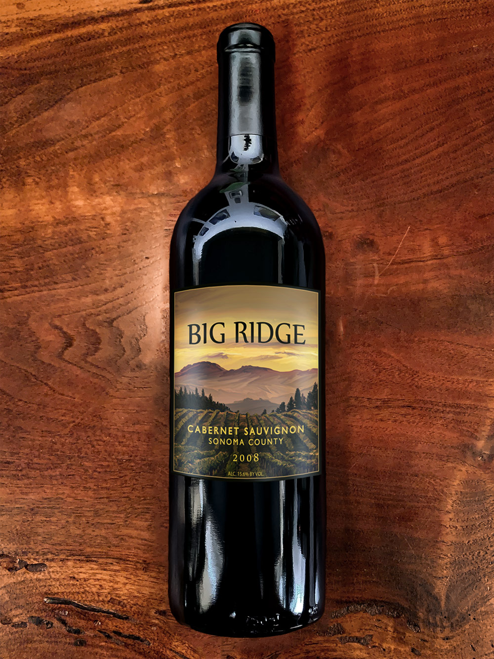 2008 Big Ridge Sonoma Valley Cabernet