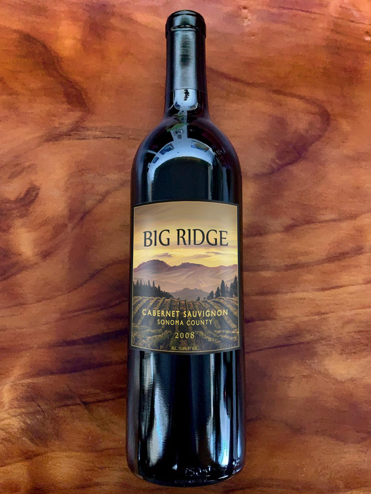 2008 Big Ridge Sonoma Valley Cabernet