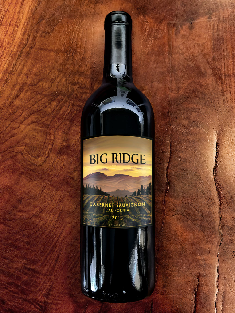 2013 Big Ridge California Cabernet