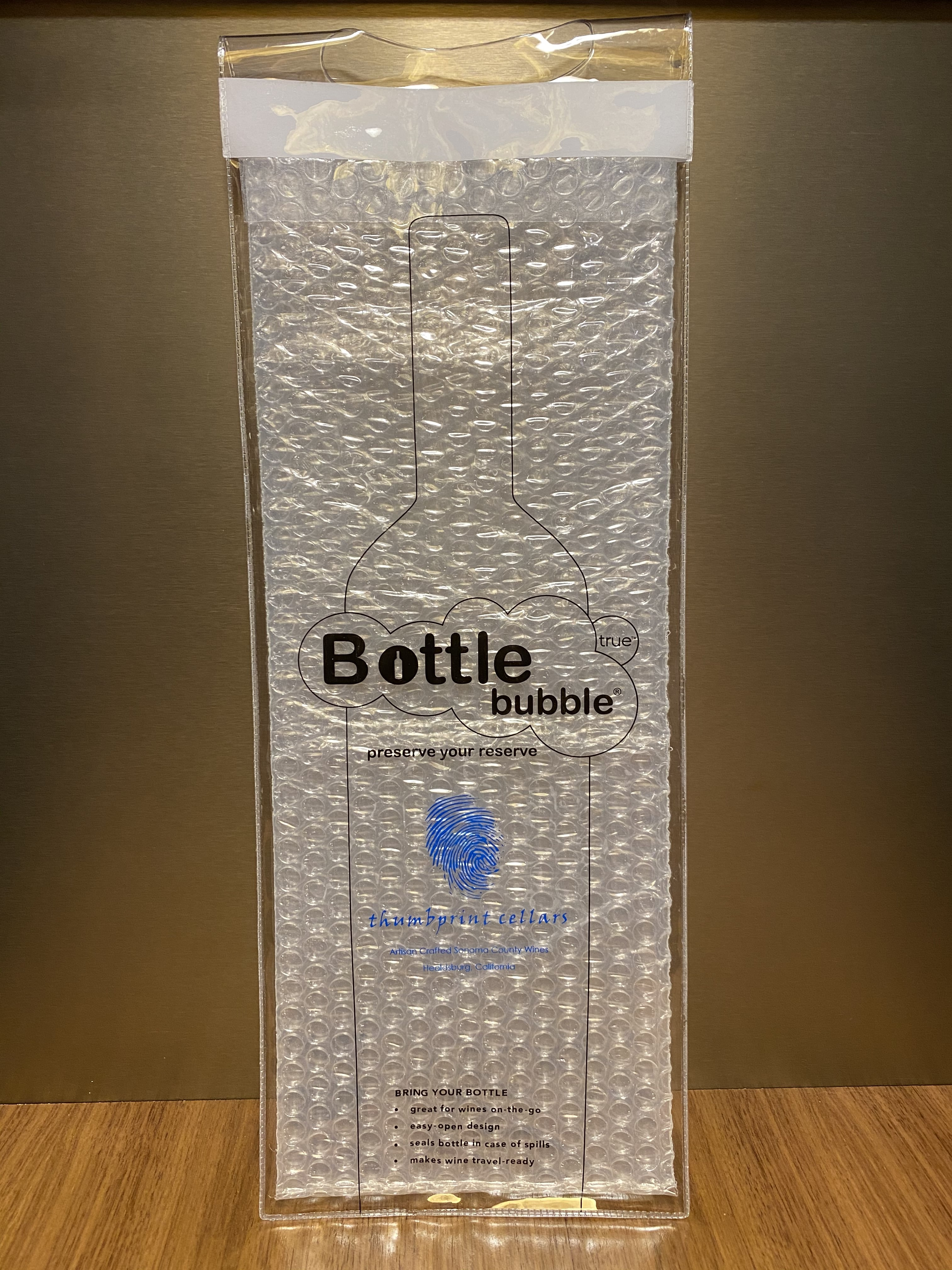 Bottle Bubble Sleeve