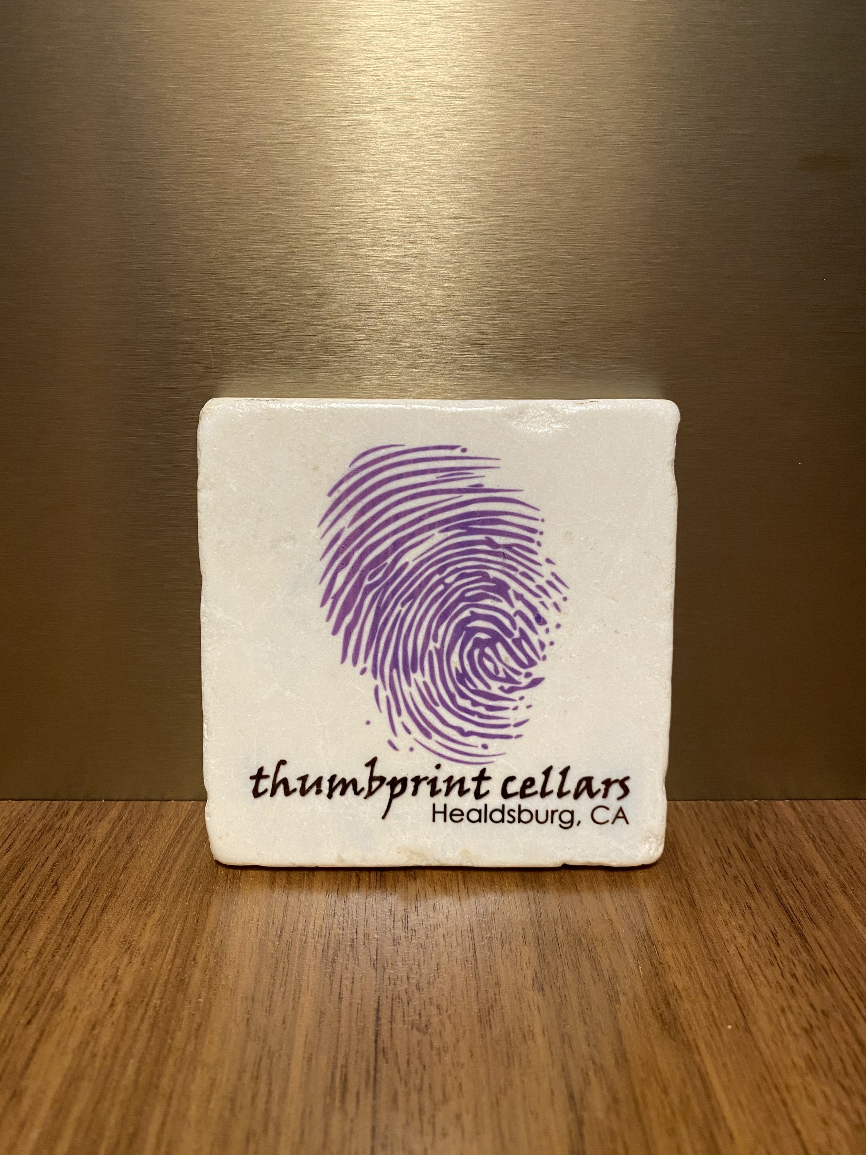 thumbprint Coaster