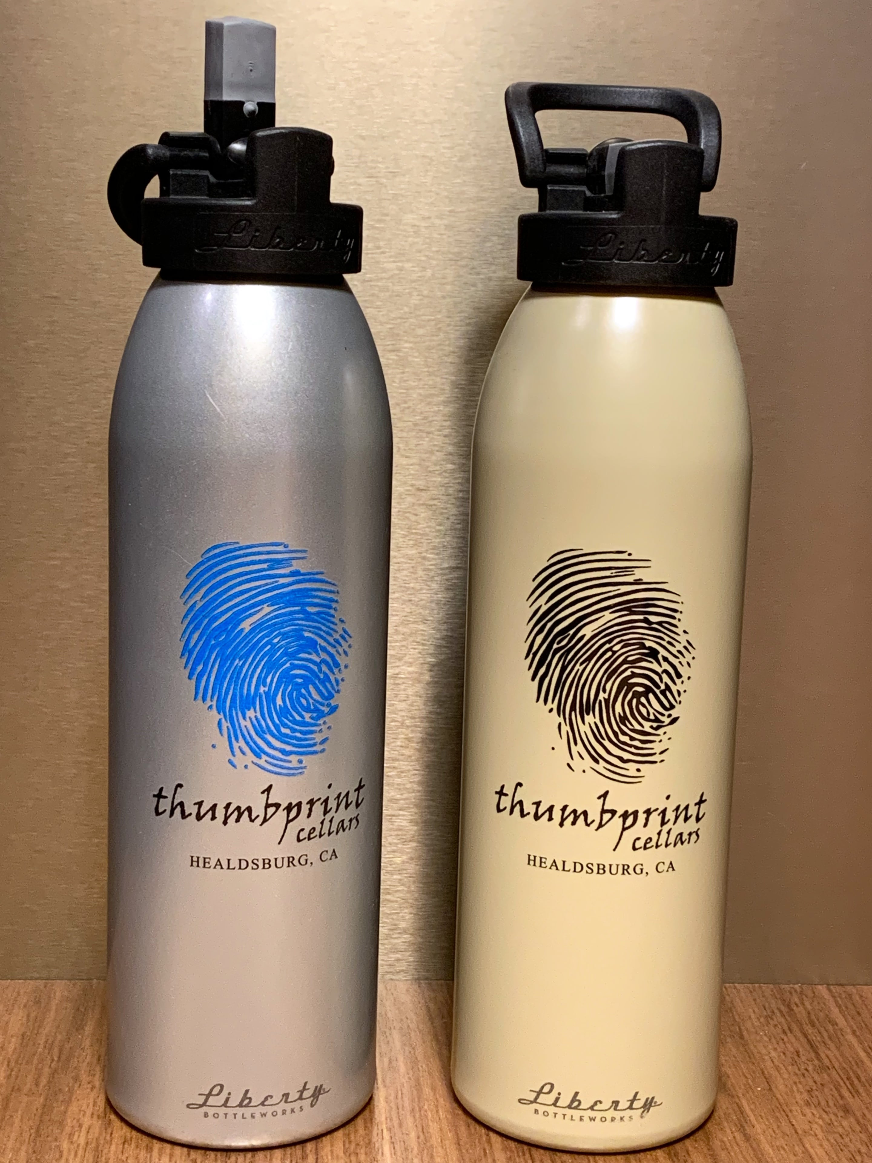 Thumbprint Water bottle