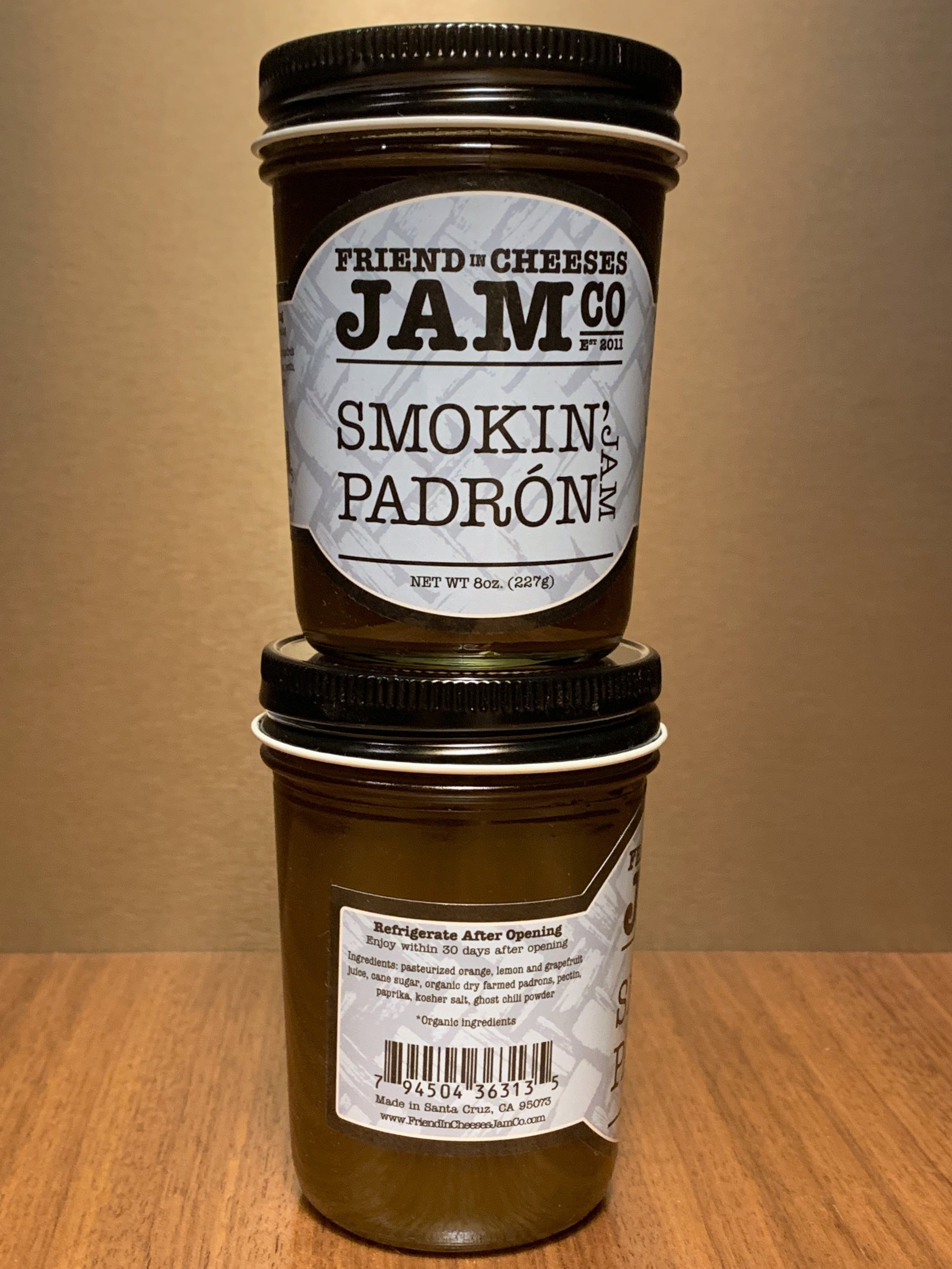 Smokin' Padron Jelly 8oz