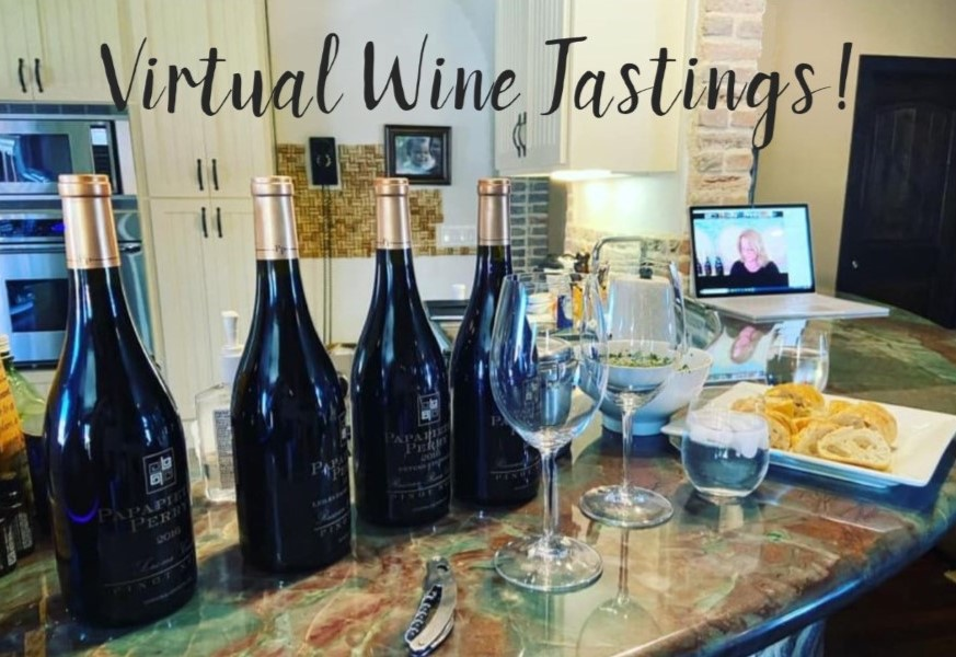 Plan Your Virtual Tasting Today!<br> One for you, one for your friends - enjoy together!