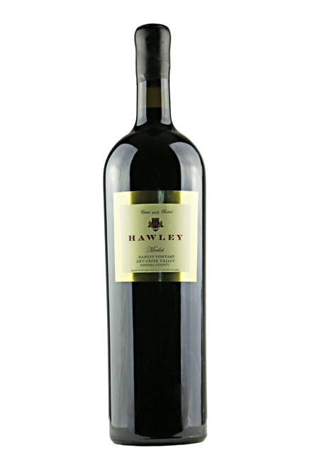 2016 Estate Merlot, Hawley Vineyard 3L Double Magnum
