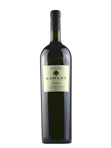 2017 Estate Zinfandel, Hawley Vineyard 1.5L Magnum
